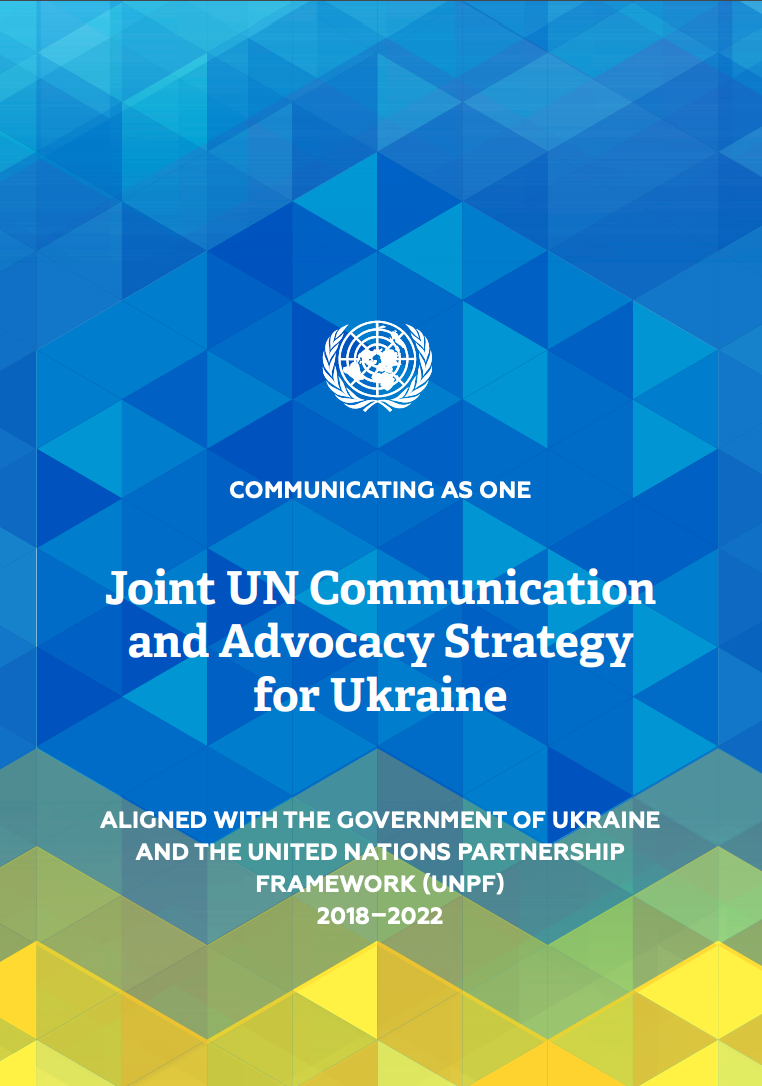 Cover page: Joint UN Communication and Advocacy Strategy for Ukraine