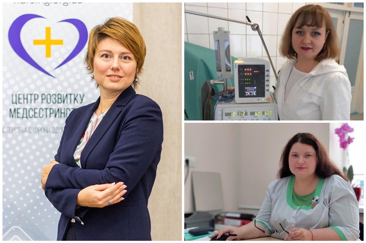 Three stories of Ukrainian nurses on World Health Day