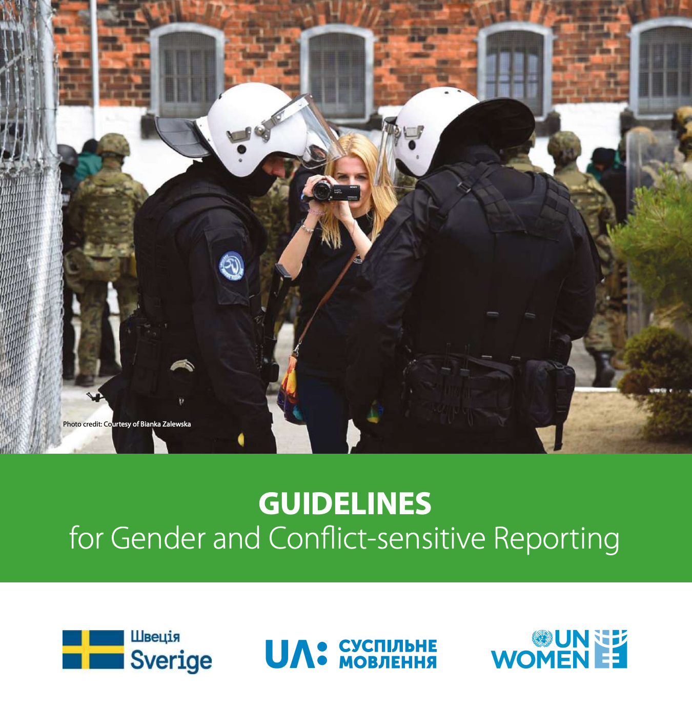 Guidelines for Gender and Conflict-sensitive Reporting