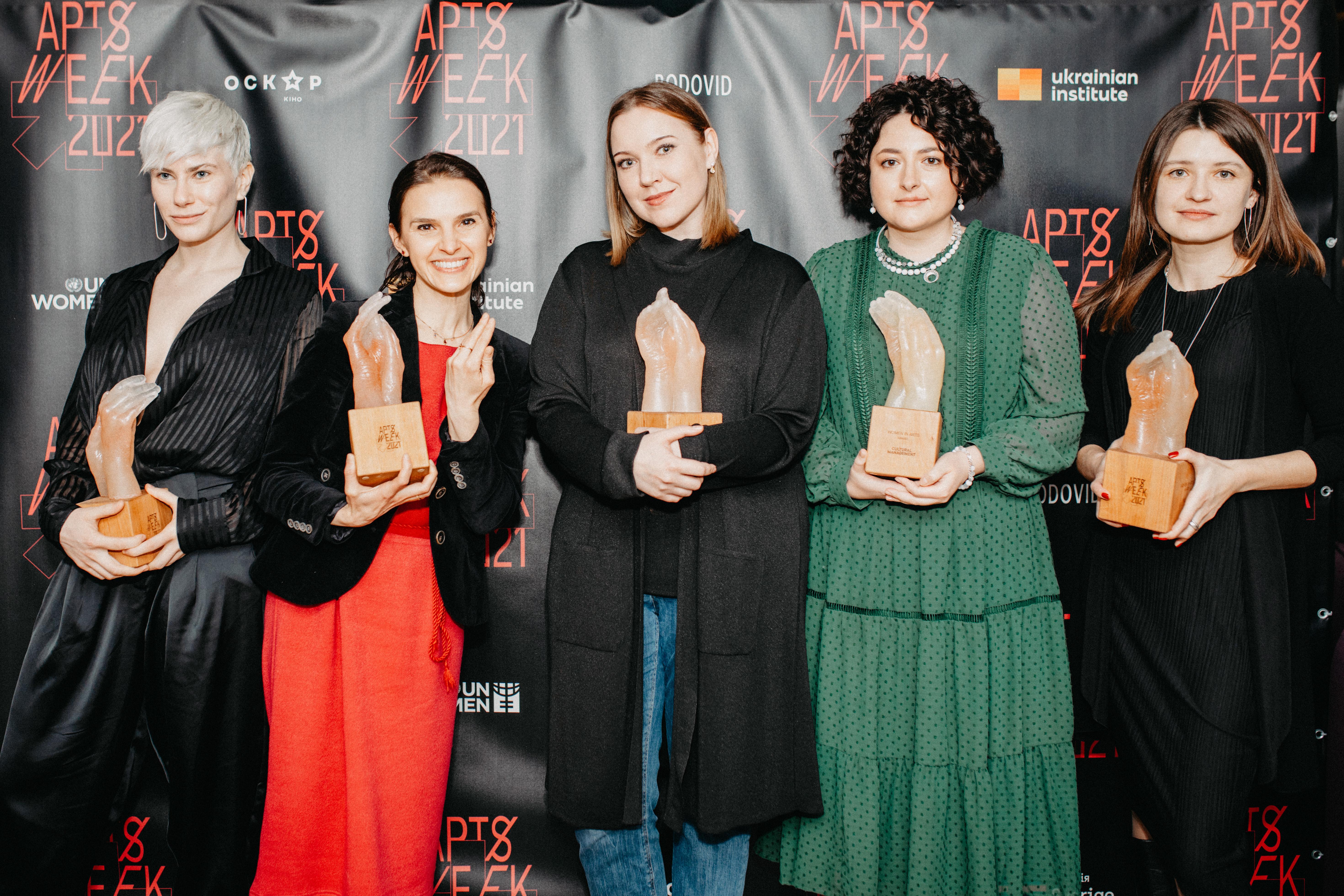 Премія Women in Arts росте та стає все більш впливовою в Україні
