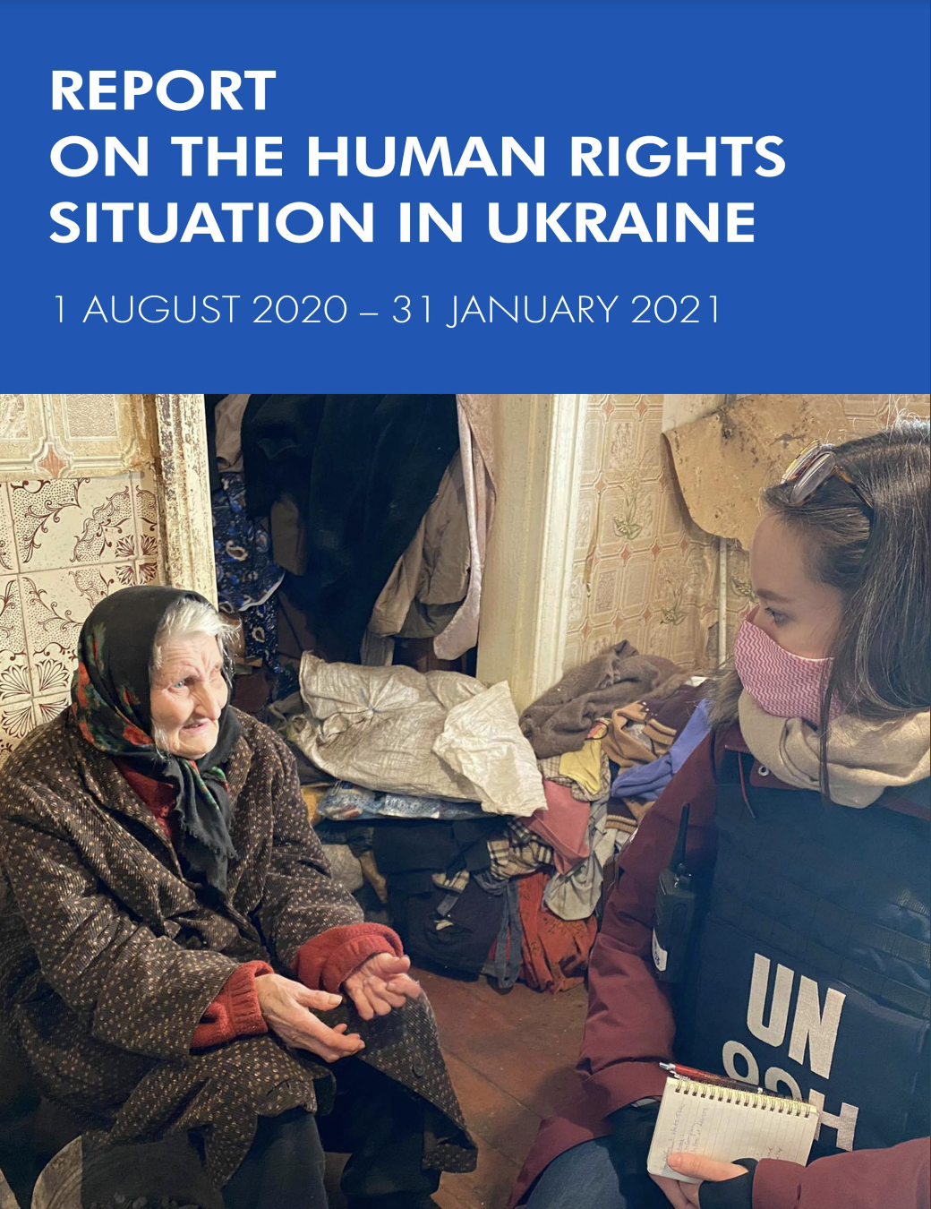 Report on the Human Rights situation in Ukraine